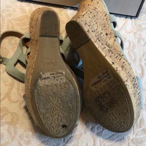 Qupid Shoes - Qupid denim wedge heels